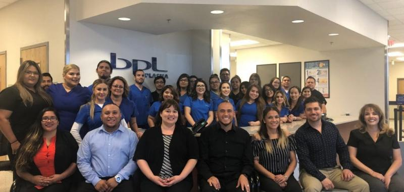 The new El Paso Stanton staff is ready to provide outstanding service to their donors.