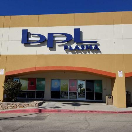 Donate at BPL Plasma on Dyer St. in El Paso